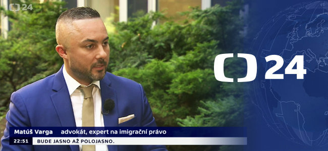 Our Law Firm in Media Matus Varga on Czech National TV